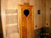 Отдых в семейной бане на дровах