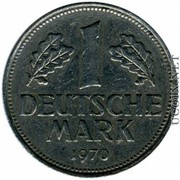 deutsche mark 1970Г0ДА