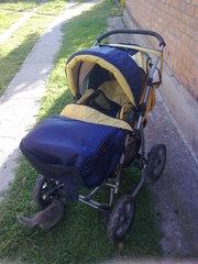 Детская коляска б/у.Дешево.