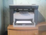 Продам принтер ксерокс и сканер 3 в од продукції  HP LaserJet M1005MFP