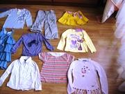 Пакет ЯКІСНИХ,  ФІРМОВИХ речей на 2-5 років для дівчаток