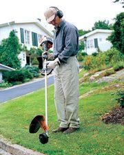 Стрижка газонів,  скошування трави,  послуги садівника