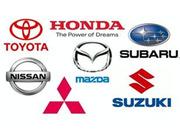 Автозапчасти,  Запчасти,   Розборка  Honda Mazda Toyota Nissan Mitsubishi Subaru