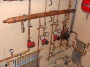 опалення,  водовідведення,  каналізація,  тепла підлога