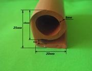 Термостойкий силиконовый уплотнитель Б-образный