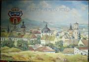 Продам картину - Осень 1939 года вид Львова