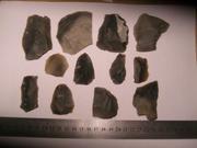 Кремневые инструменты древнего человека