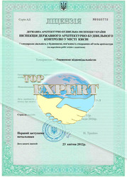 Строительная лицензия по Украине СС2,  СС3.