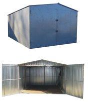 металевий гараж різних розмірів