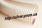 Рукав для вентиляции полиуретановый со стальной спиралью D-102мм