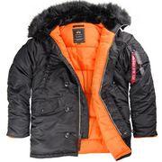 Куртки Аляска Alpha Industries N-3B Slim Fit Parka (USA)