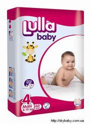 Самая низкая цена на подгузники Lulla Baby всего 179 грн;  ОПТ от 169 г