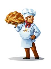 Работа в пекарне. Чехия