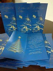 Новорічні листівки,  вітальні листівки до Нового року,  сувенірка Рівне